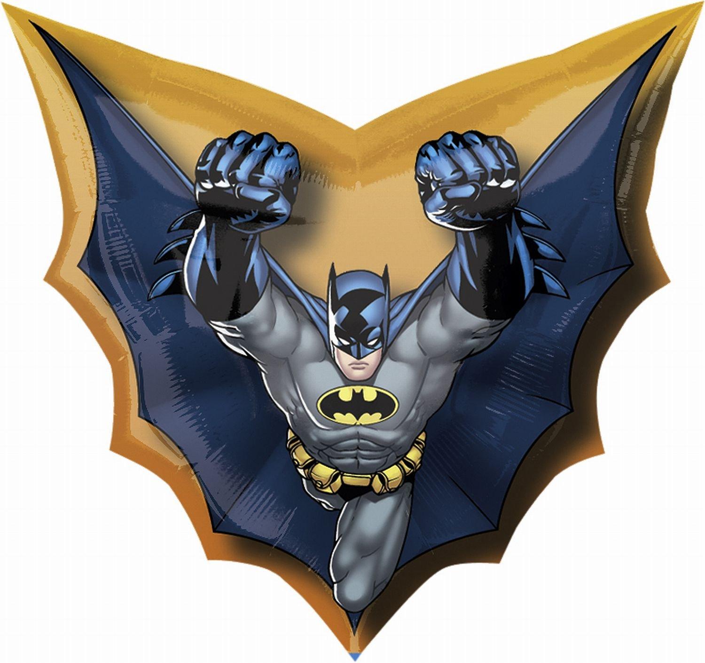Batman Cape Super Shape 28 Foil Balloon Mayflower 1775502 17755-02