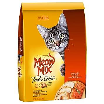 Amazon.com: Comida seca para gatos, de la marca Meow Mix ...