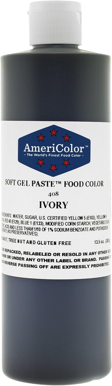 Americolor Ivory Soft Gel Paste 13.5 Ounce Soft Gel Food Color