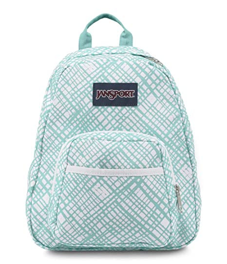 Amazon.com  JanSport HALF PINT BACKPACK - AQUA DASH JAGGED PLAID ... 59f60432d6
