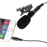 [Microphone] Ohuhu® Clip-on/Micro-cravate Omnidirectionnel Microphone d'Enregistrement/microphone à Condensateur pour iPhone ,iPad, iPod Touch, Samsung et autres Android Windows Smartphones