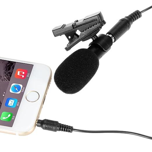 9 opinioni per Ohuhu® Clip-on Microfono Mic Omnidirezionale per Registrazione Audio per