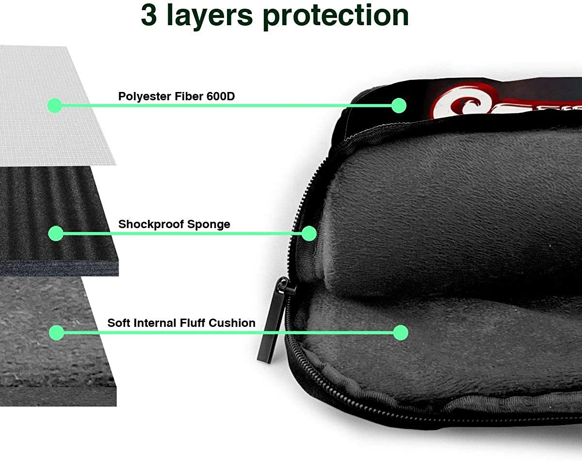 JuaoHuan Luke Combs Laptop Shoulder Messenger Bag Case Briefcase Sleeve for 13 Inch 14 Inch 15.6 Inch Laptop Case 14 Inch
