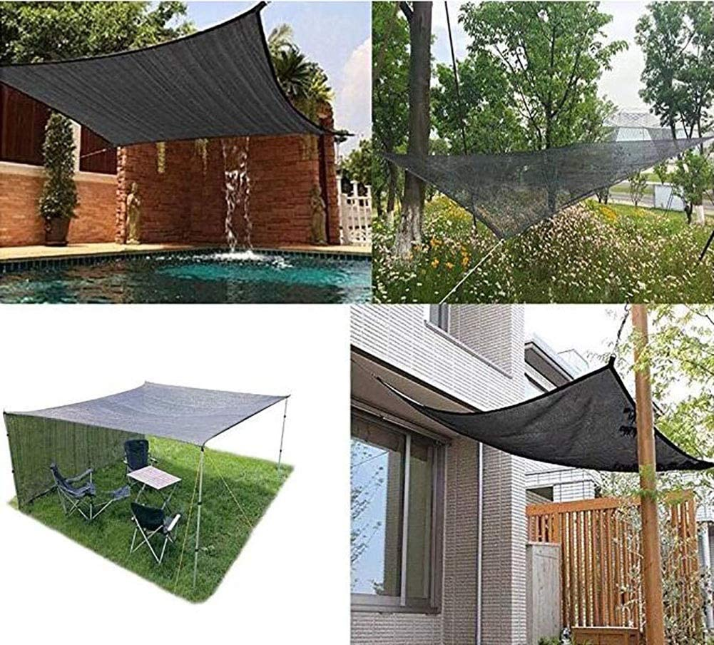Toldos para jardín: 90% Protector Solar, Tela de Sombra, Borde de ...