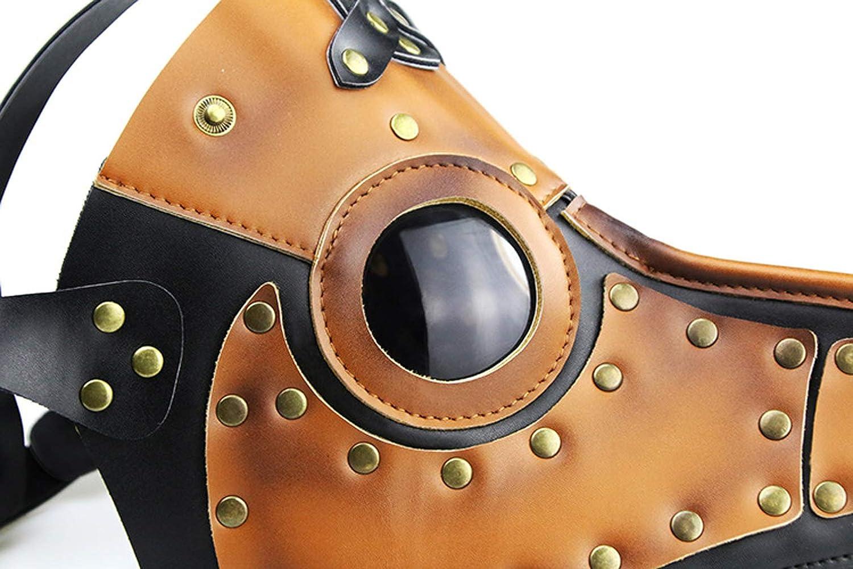 WAOBE Máscara De Halloween Steampunk - Máscara De Boca De Pájaro De La Peste, Adecuado para Fiestas, Bares, Actividades De Halloween: Amazon.es: Deportes y ...