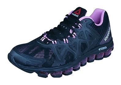 5893f599ea78d Reebok ZJet Burst Womens Running Sneakers-Black-5.5