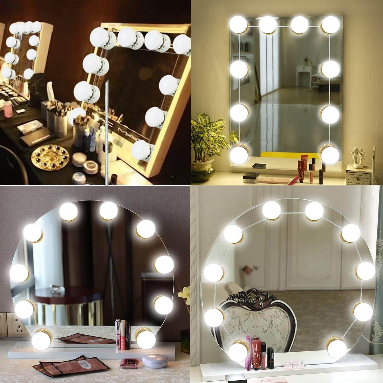 Amazoncom Hollywood Style LED Vanity Mirror Lights