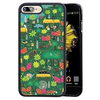 Amazon.com: Personas En El Bosque teléfono celular carcasa ...