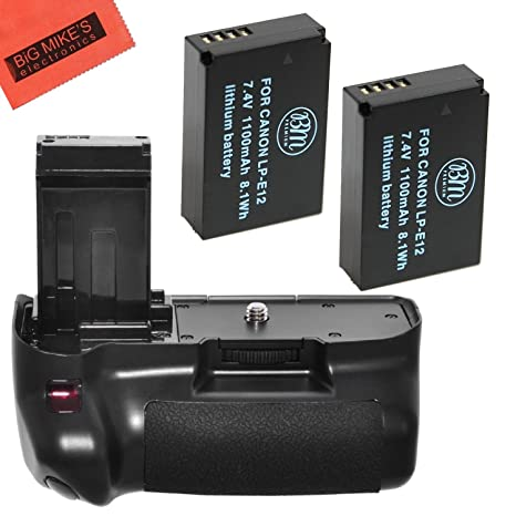 Remote Shutter Release Included Polaroid Wireless Performance Battery Grip For Canon SL1 100D Digital Slr Camera