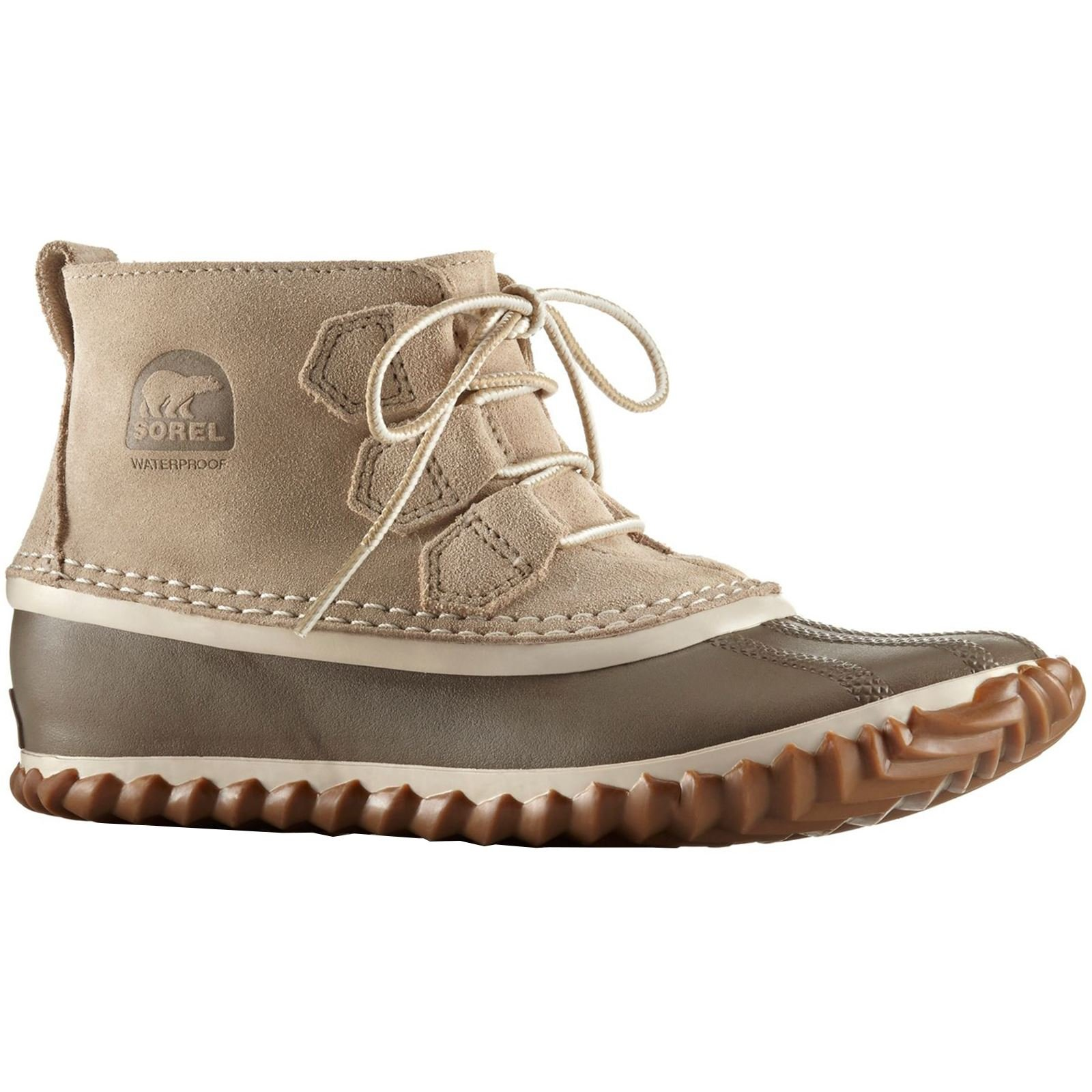 SOREL Women's Out N About Suede Duck Boot (9 B(M) US)