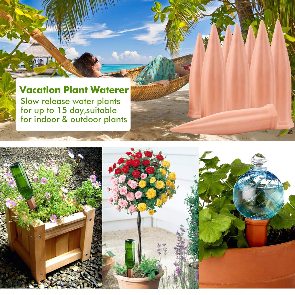 Automatic Vacation Plant Watering Devices,Terracotta Wine Bottle ...