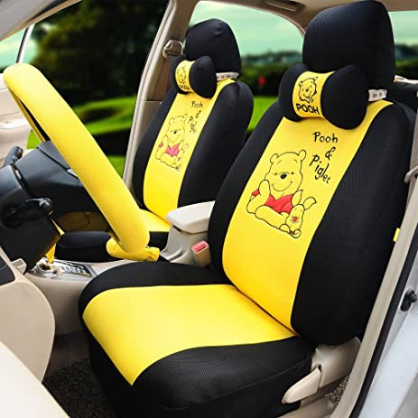 Amazon.com: 1 Set Summer Fashion Car Front and Back Seat Cover ...