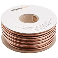 AmazonBasics 14-Gauge Speaker Wire 2.08 mm² - 15.24 m (50 feet)