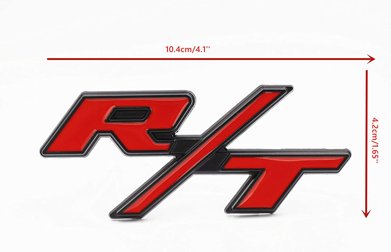 BWONE R//T RT Front Grille emblem apply to for Dodge Charger Challenger Jeep Ram1500 Challenger Grand Cherokee