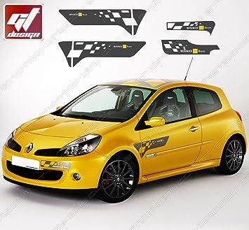 Replica Renault Clio F1 Team R27 Gt Design Sticker Set
