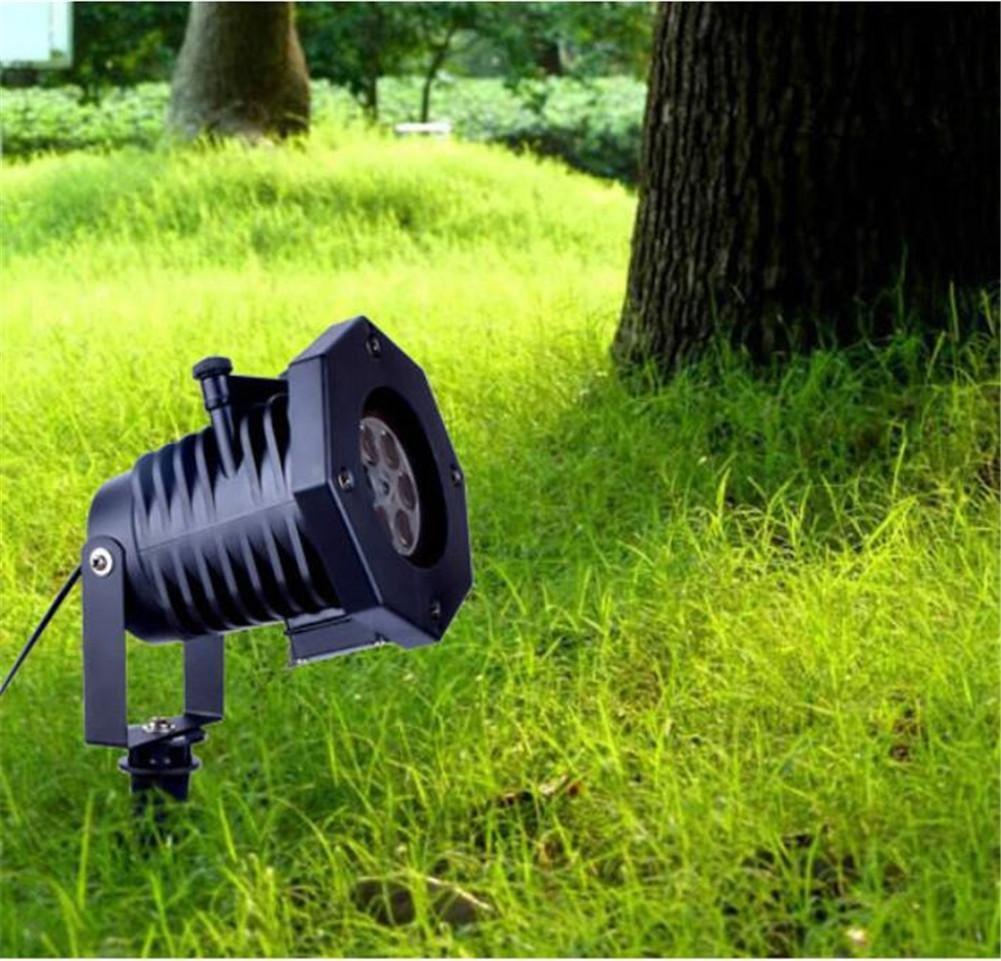 Xingyue Mythologyアウトドア投影ランプ防水雪ランタン芝生ランプ12パターン変更できカードFestiveライトクリスマス装飾ライト   B077BTWBPX