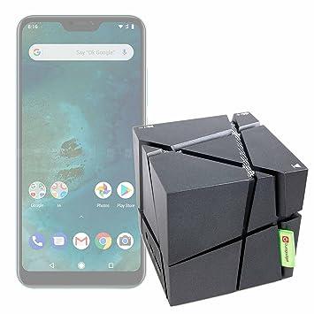 DURAGADGET FANTÁSTICO Altavoz Inalámbrico Portátil para Smartphone DOOGEE X55, Ulefone S8 Pro, Xiaomi Mi A2 Lite- con Luces De Colores: Amazon.es: ...
