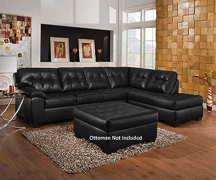 Amazon Com Acme Furniture Shi 50615 123 Sectional Sofa With Left