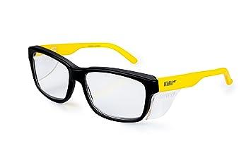 Pegaso 125.69.020 - Gafas contra impactó con lentes pre graduadas, Multicolor (Negro/Amarillo), +2.0, L: Amazon.es: Bricolaje y herramientas