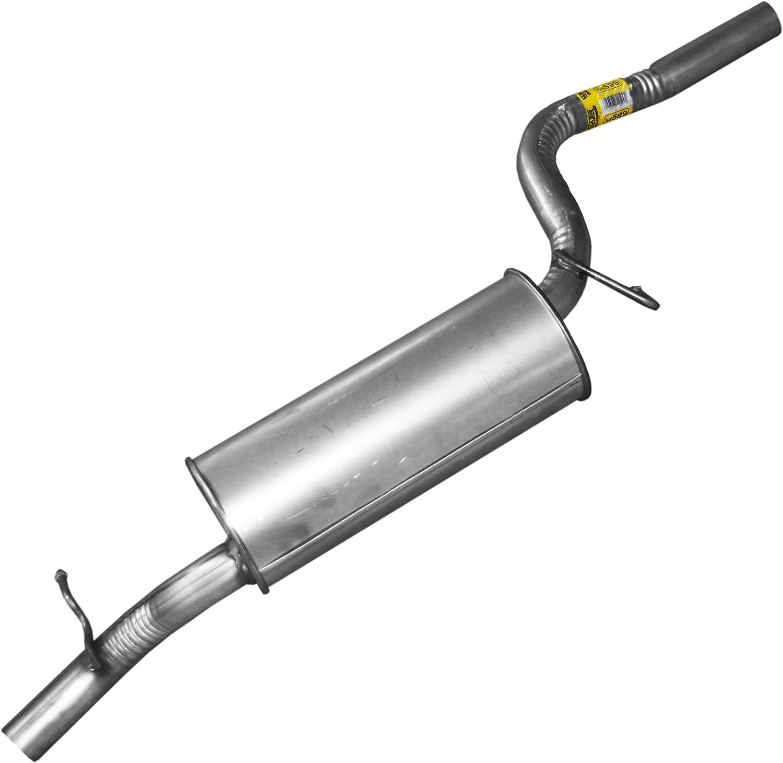 Exhaust Muffler Assembly-Quiet-flow Ss Muffler Assembly Walker 54654
