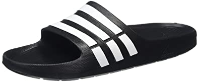 outlet store bc627 85cd4 Adidas Duramo Slide Badesandale 15 UK - 51.13 EU