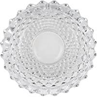 N M Z Round Glass Smoking Ashtray Home Office Tabletop Decoration