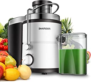 SHARDOR Centrifugal Juicer Machine, Electric Juice Extractor with Big Mouth 3