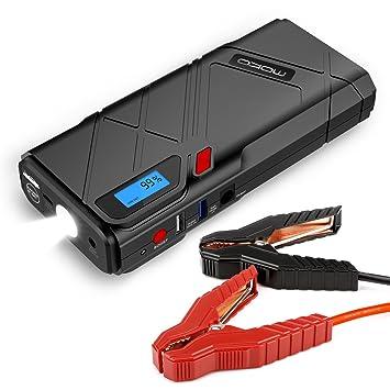 MoKo Arrancador de Coche - 1200A Jump Starter Portable ...