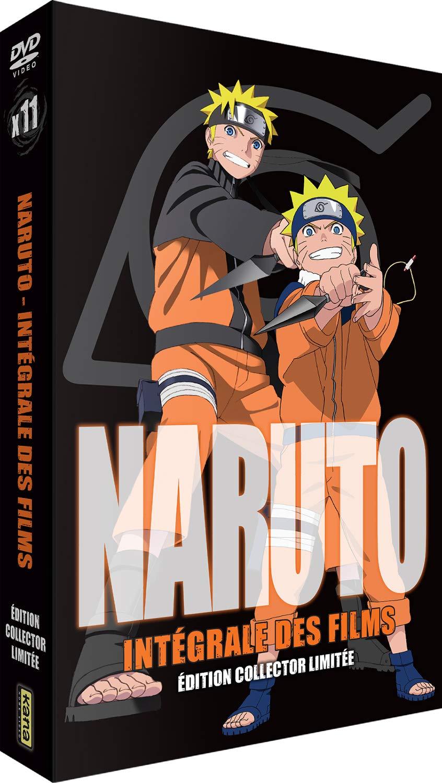 Naruto : Intégrale des Films 11 Films Francia DVD: Amazon.es ...