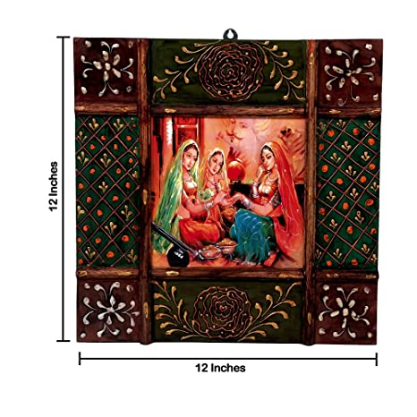 Amazon Com Imperial Traditional Painting Beautiful Indian Women