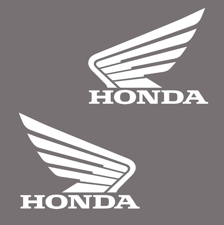 2 Stü ck Aufkleber Honda fü r Reservoir Motorrad- oder andere Dé co ADP Adhésifs