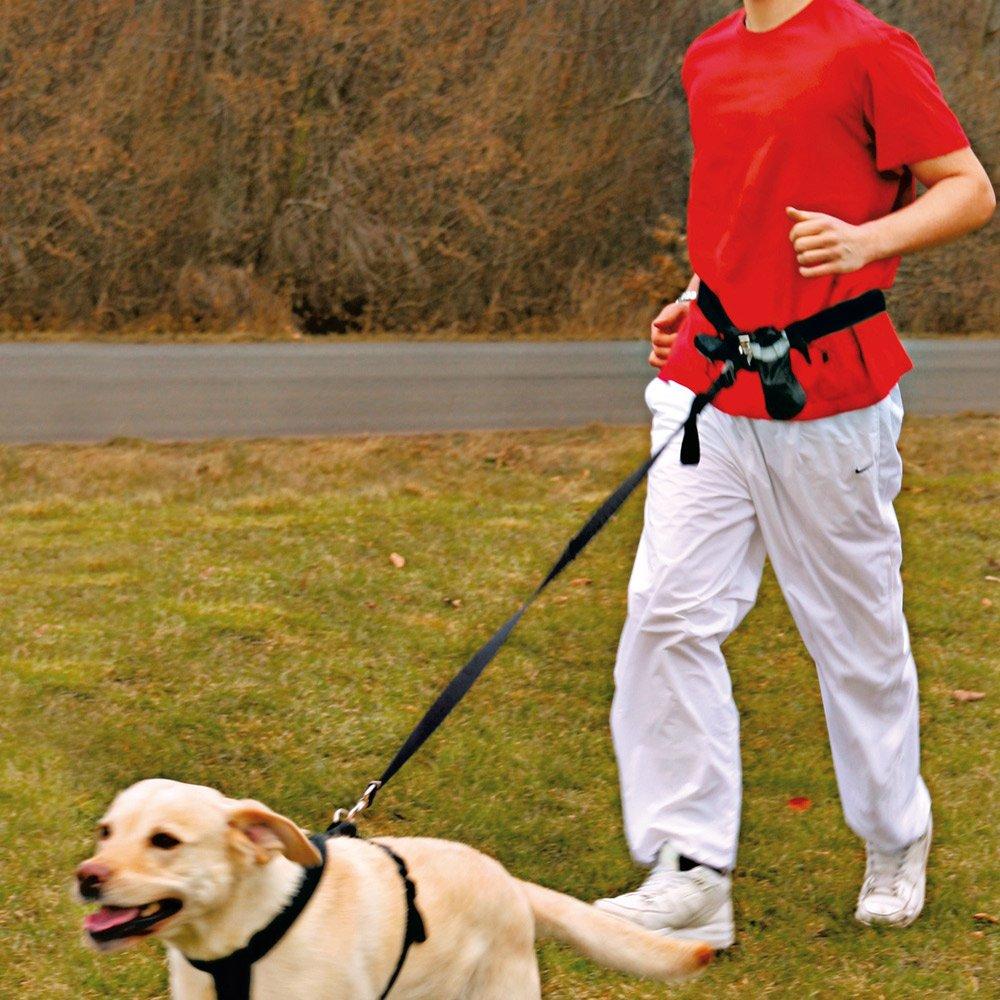 Trixie Hands Free Waist Belt For Jogging & Dog Exercise Leash