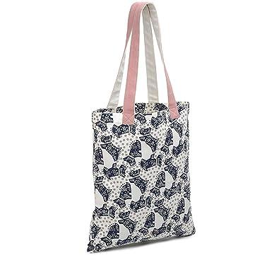 d1b0aef7b Radley Folk Dog Canvas Tote Bag: Amazon.co.uk: Shoes & Bags