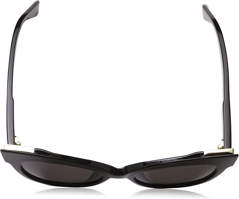42e0c6d1558ec Max Mara Women s Mm Anita Polarized Cateye Sunglasses BLACK 52 mm. Back.  Double-tap to zoom