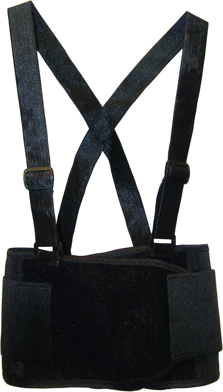 SAS Safety 7162 32-38 Inch Deluxe Back Support Belt, Medium - Contractor Belt -