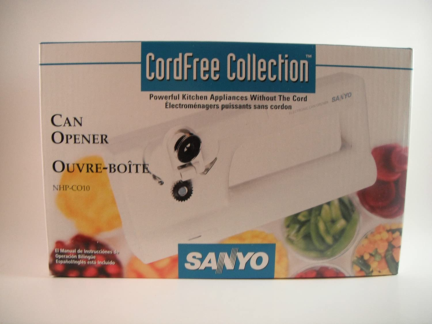 SANYO CORDFREE COLLECTION CAN OPENER