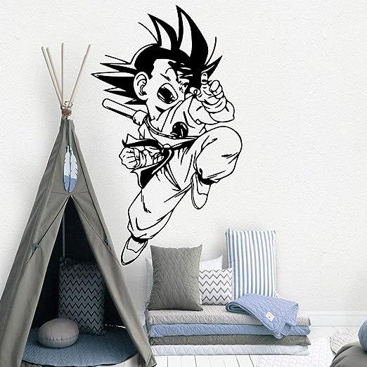 yiyitop Hot Goku Nursery Tatuajes de Pared de Vinilo calcomanías ...