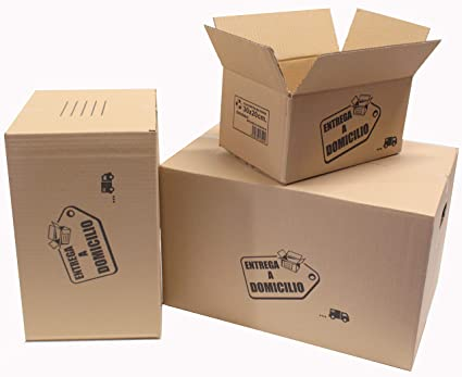 Chely Siglo Cajas mudanza grandes - 30x20x15 cm(Pack de ...