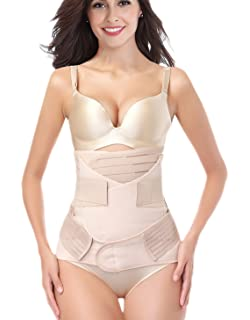 3d0c1db699f6e DICOOL 3 in 1 Postpartum Support Recovery Girdle Corset Belly Waist Pelvis  Belt Shapewear Belly Wrap
