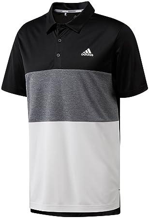 56e4b2a3 Amazon.com: adidas Men's Advantage Wide Colorblock Golf Polo: Clothing