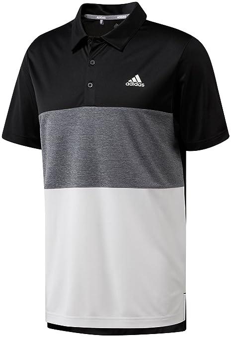 e676eb75e adidas Men's Advantage Wide Colorblock Golf Polo