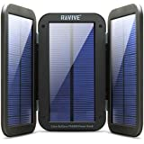 ReVIVE ReStore PX6000 Solar Charger & 6000mAh Power Bank with 4W Active Charging Solar Panels , Folding Wing Design & Built-In Kickstand - Works With Apple , Samsung , LG & More Media Devices!