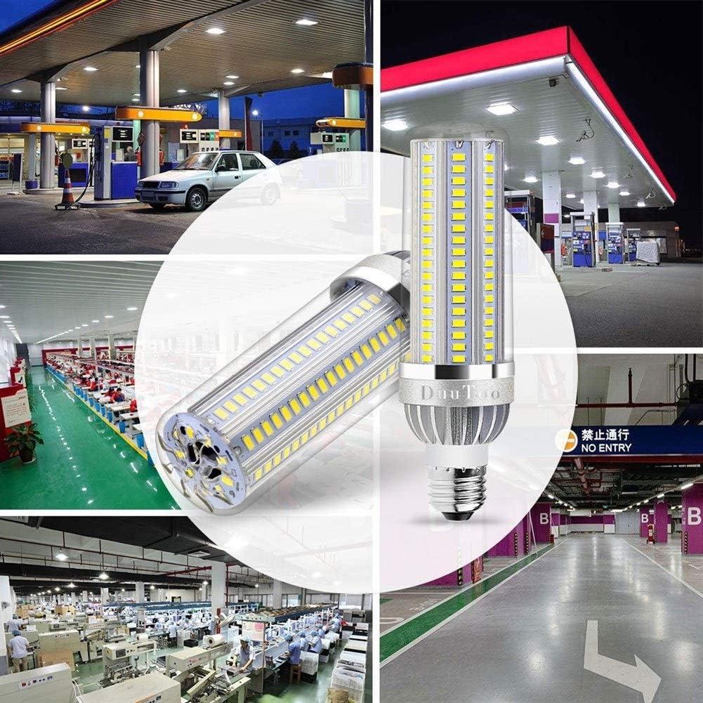 Fan Corn LED-Birnen-E27 E26 LED-Lampen 220V High Power 25W / 35W / 50W / 54W Lichter 110V Kein Flicker 85-265V Lampada for die Innenbeleuchtung (Color : Warm White Light 50W E26) White Light 50w E26