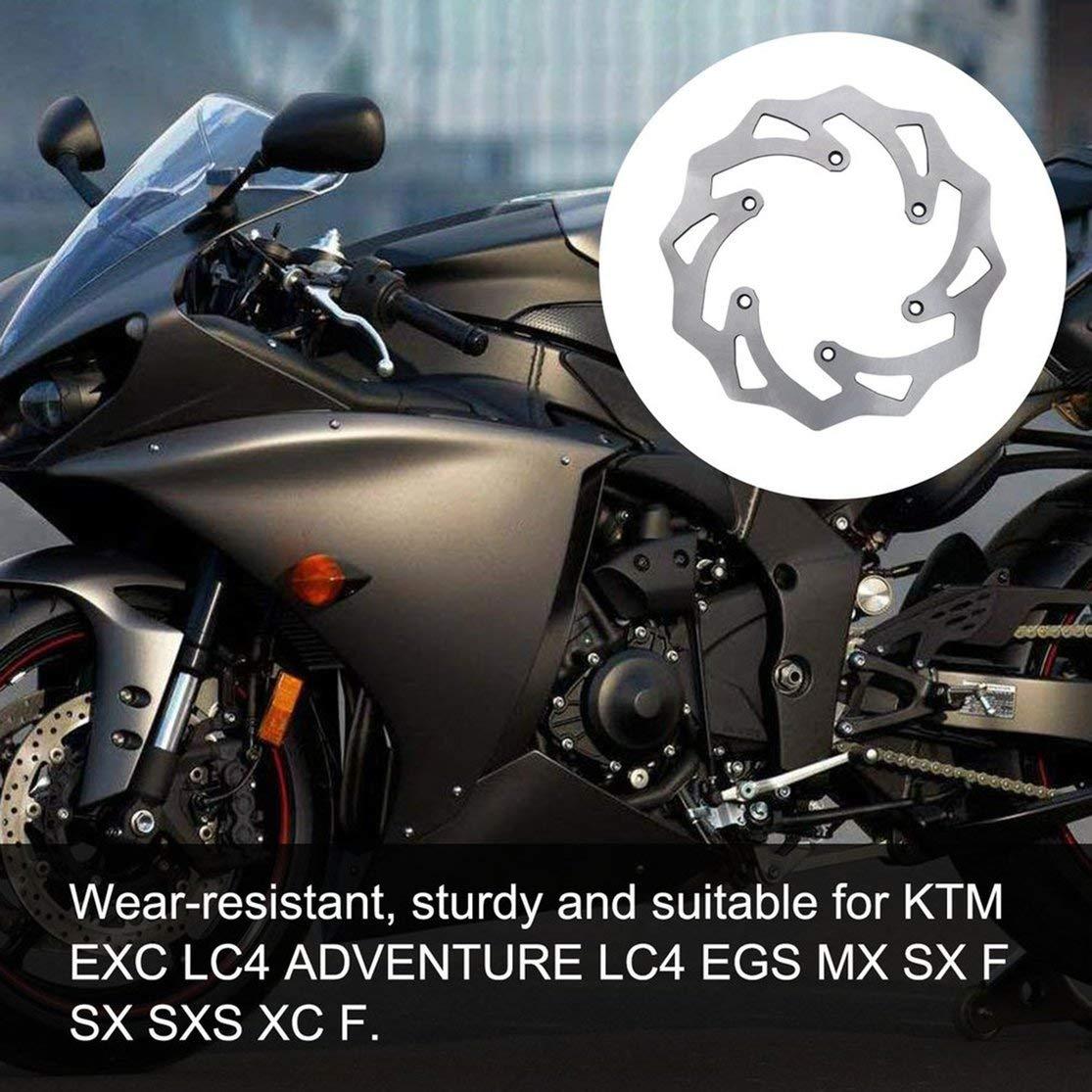 LouiseEvel215 Motorrad Bremsscheibe Rotor Hinten F/ür KTM Exc Lc4 Abenteuer Lc4 Egs Mx Sx F Sx Sxs Xc F Bester Ersatz