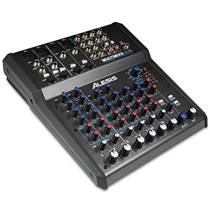 Excellent Amazon Com Alesis Multimix 8 Usb Fx 8 Channel Mixer With Effects Wiring Cloud Hisonuggs Outletorg