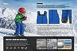 TSLA Toddler's Snow Bib Windproof Ski Insulated