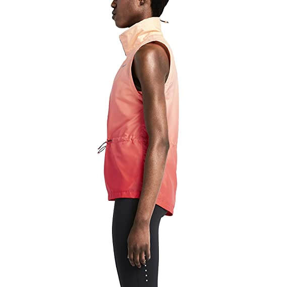 uk availability 2e158 c5b17 Nike Women s Gradient Running Vest-Daring red Sunset glow-Small by Nike   Amazon.co.uk  Sports   Outdoors