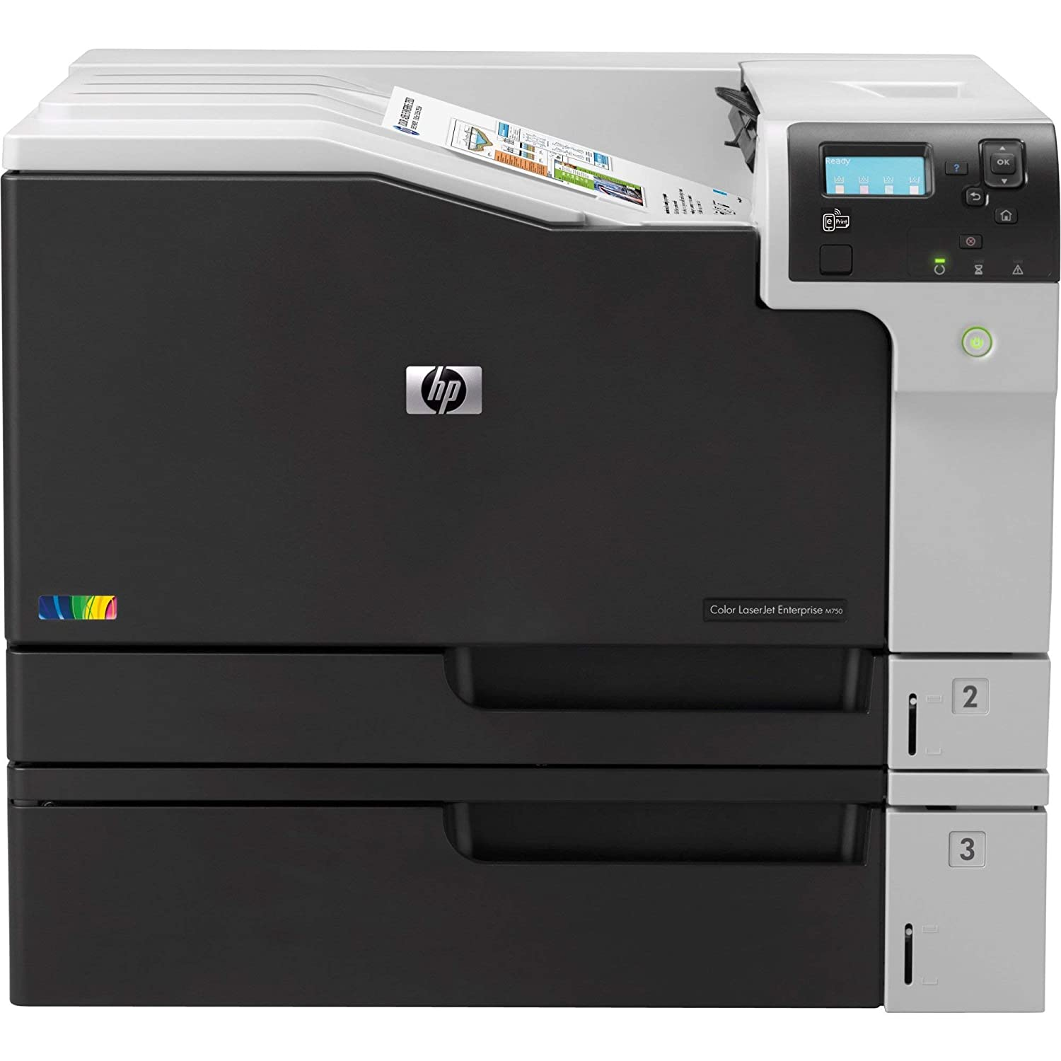 HP Color LaserJet Enterprise M750dn (D3L09A) (Certified Refurbished)