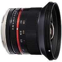 Samyang SY12M-E-BK 12mm F2.0 Ultra Wide Angle Lens for Sony E Cameras, Black