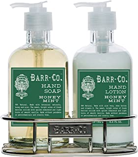 product image for Barr Co Hand & Body Duo with Caddy (Honey Mint)